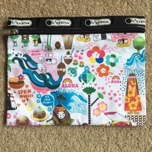 Hawaii exclusive travel pouch LeSportsac